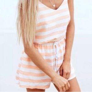 Sabo Skirt Stripe High Waisted Shorts
